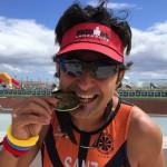 Javier Sanz, running
