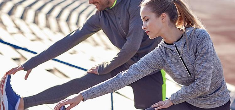Cómo realizar un correcto calentamiento antes de entrenar o de realizar una competición