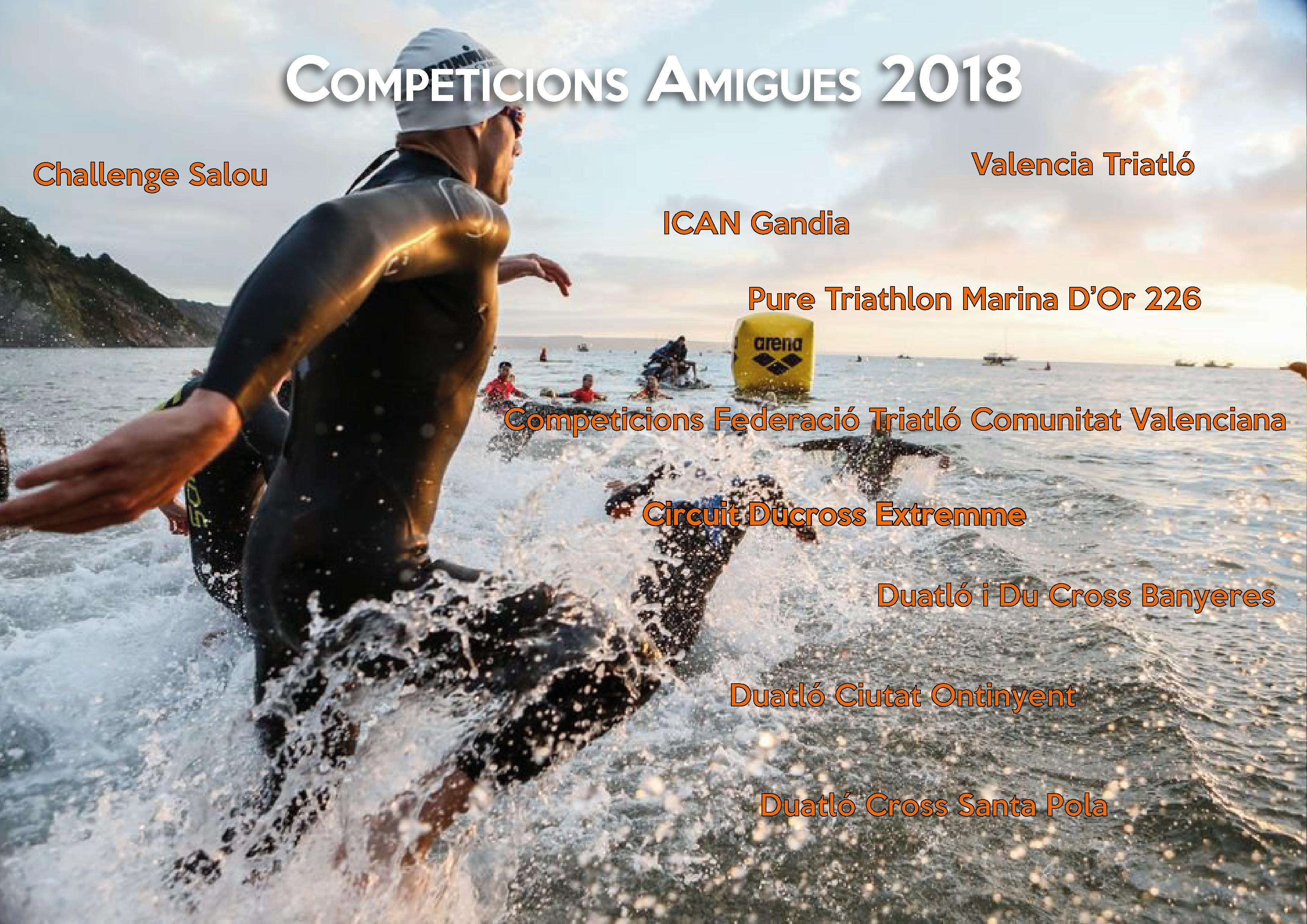 Competiciones Triatlón y Duatlón