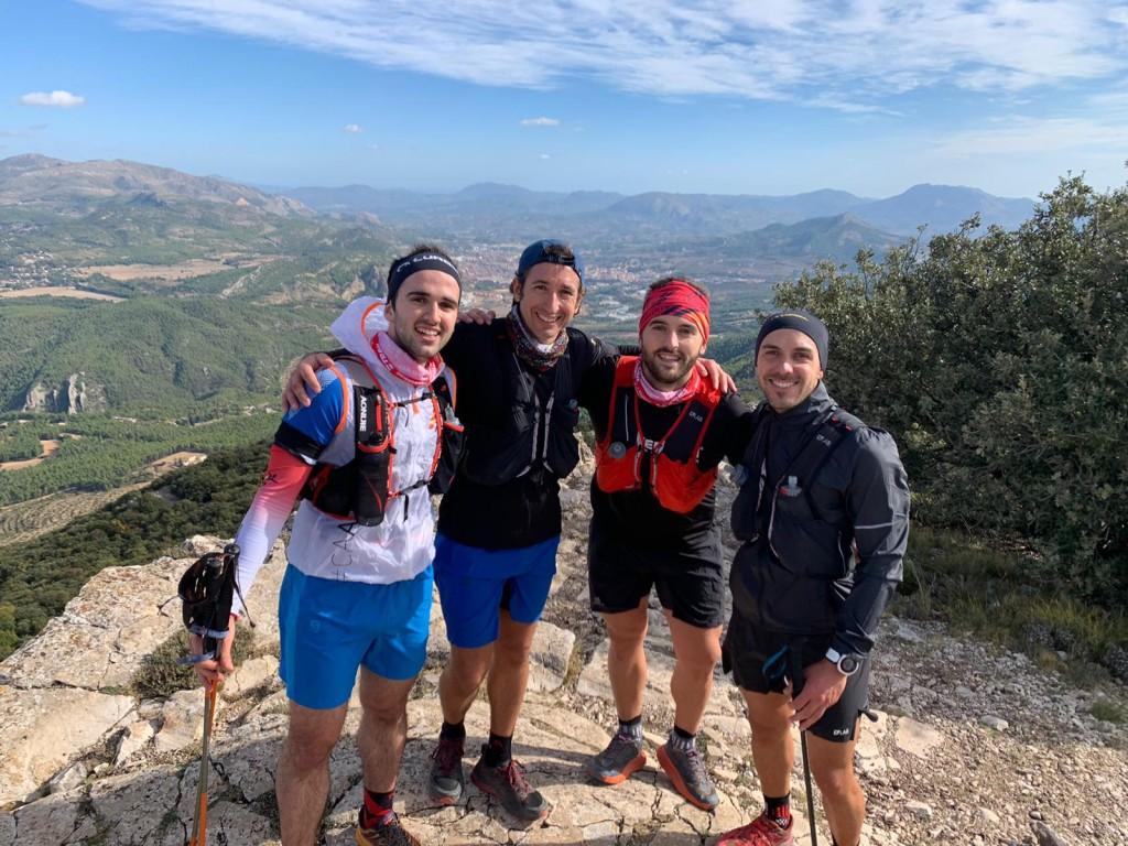 Pau Ferrer, Eric Biosca, Raül Jordà i Rubén Bou